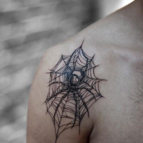 קעקוע של עכביש
